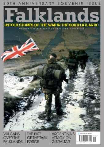 Combat Aircraft issue Falklands
