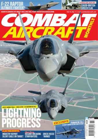 Combat Aircraft issue November 2013