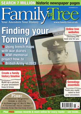 Family Tree issue Family Tree November 2013