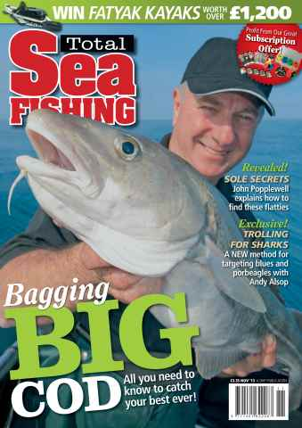 Total Sea Fishing issue November 2013