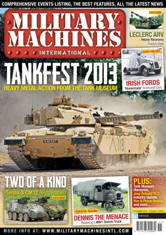 Military Machines International issue November 2013