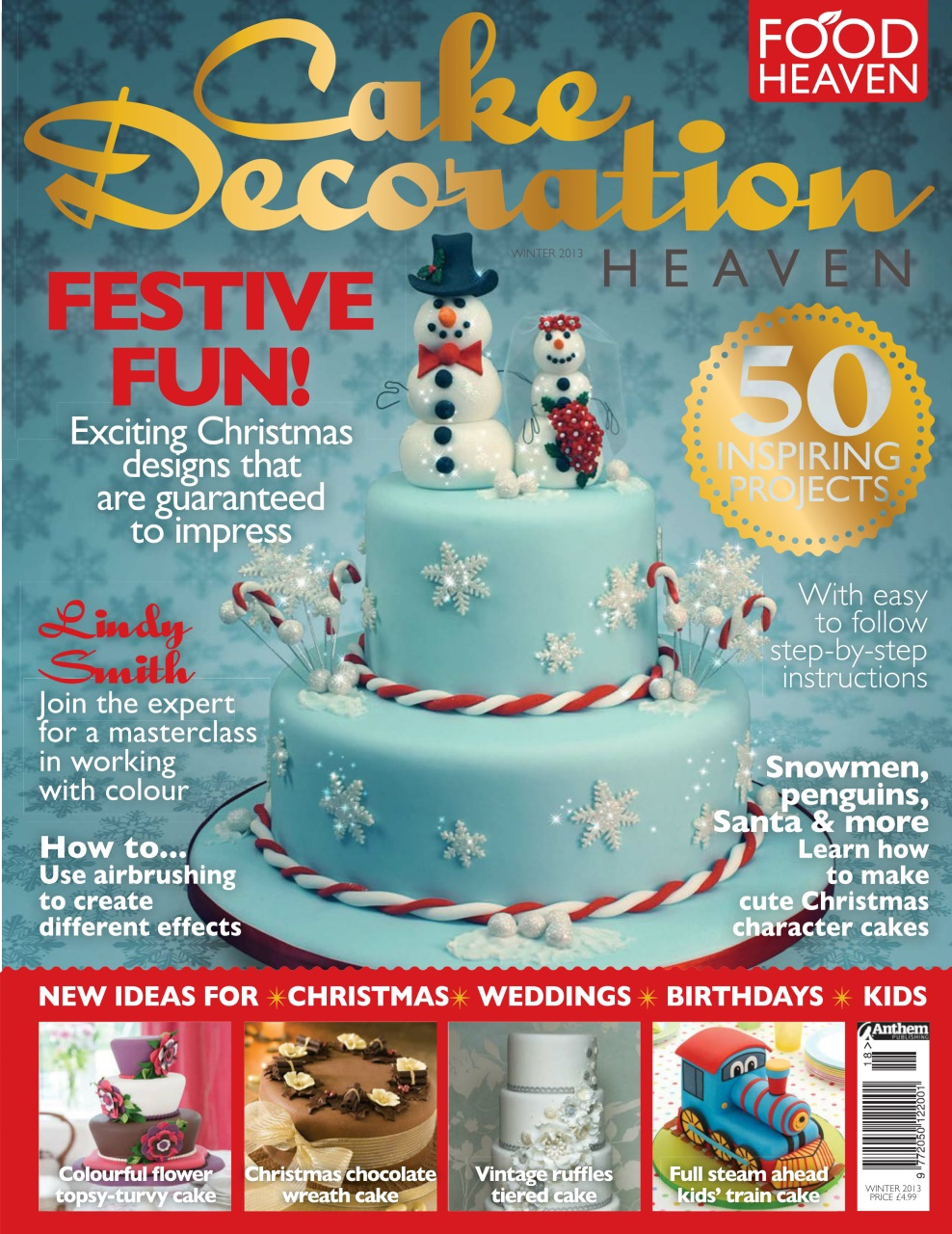 Food Heaven Magazine - Cake Decoration Christmas 13 ...