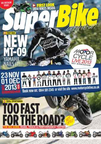 Superbike Magazine issue October 2013