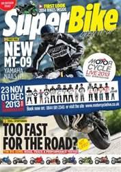 Superbike Magazine issue October 2013