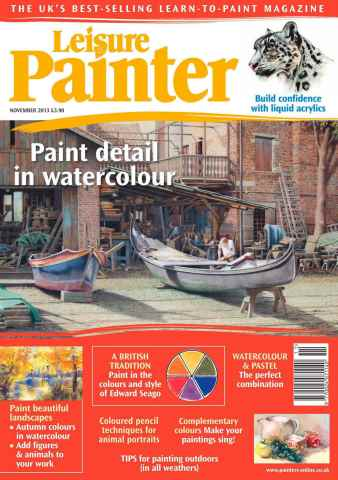Leisure Painter issue November 2013