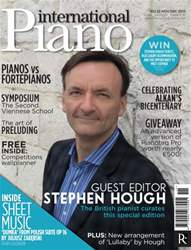 International Piano issue November - December 2013