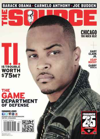 The Source Magazine issue #257 The Source Magazine - T.I.