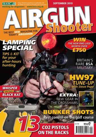 Airgun Shooter issue Septmeber 2010