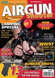 Airgun Shooter issue Septmeber 2010