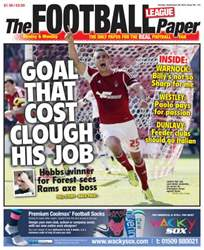 The Football League Paper issue Sunday 29th September 2013