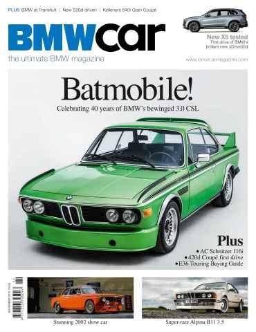 BMW Car issue November 13