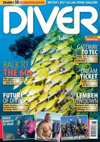DIVER issue NOVEMBER 2013