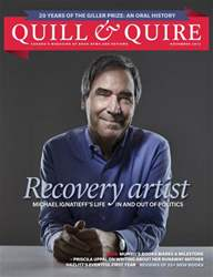 Quill & Quire issue NOVEMBER 2013