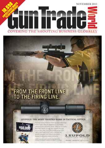 Gun Trade World issue November 2013