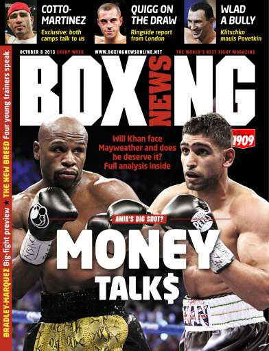 Boxing News Magazine - October 8 2013 Subscriptions ... Boxing News