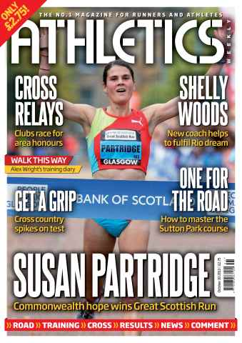 Athletics Weekly issue 10th October 2013