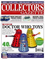 Collectors Gazette issue Doctor Who special - Nov 2013