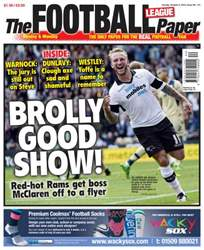 The Football League Paper issue Sunday 6th October 2013