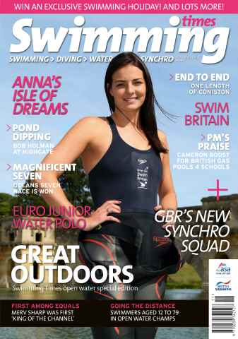 Swimming Times issue November 2013
