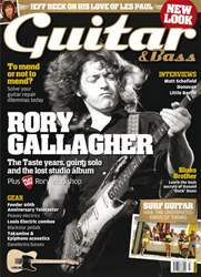 Guitar & Bass Magazine issue July 2011 Rory Gallagher