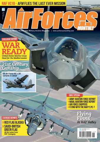AirForces Monthly issue November 2013