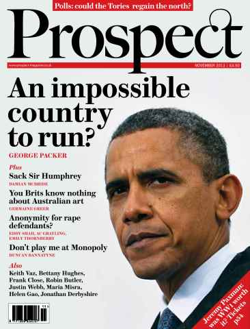 Prospect Magazine issue 212 - November 2013