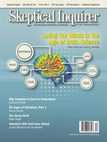 Skeptical Inquirer issue November December 2013