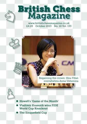 British Chess Magazine issue October 2013