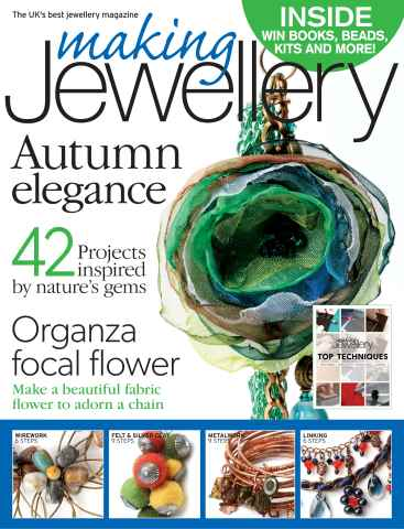 Making Jewellery issue November 2013