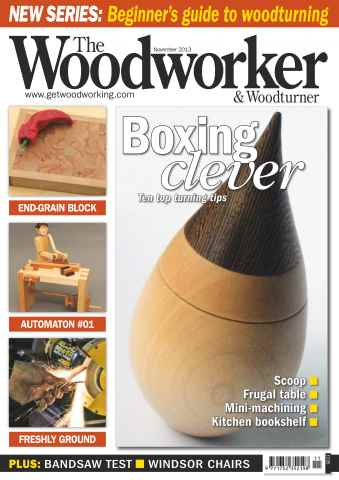 The Woodworker Magazine issue November 2013