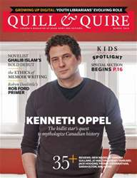 Quill & Quire issue MARCH 2014