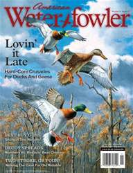 American Waterfowler issue Volume IV Issue VI