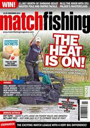 Match Fishing issue November - 2013