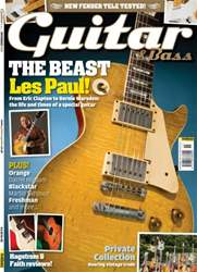 Guitar & Bass Magazine issue November 2013 The Beast Les Paul