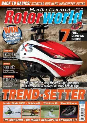 Radio Control Rotor World issue 92