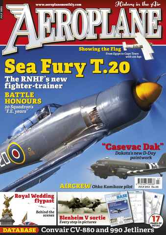 Aeroplane issue No.459 Sea Fury T.20