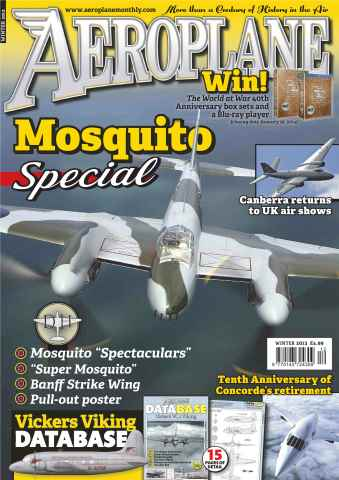 Aeroplane issue No.488 Mosquito Special