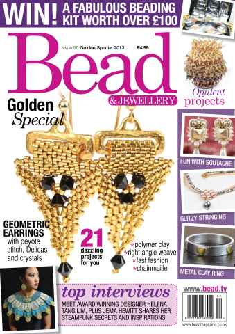 Bead Magazine issue Bead Issue 50