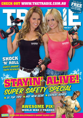 Tradie issue THE TRADIE Feb 2011