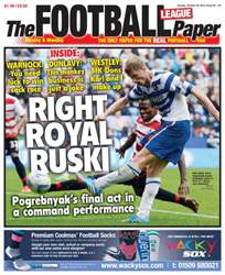 The Football League Paper issue Sunday 20th October 2013