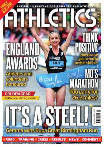 Athletics Weekly issue 24th October 2013