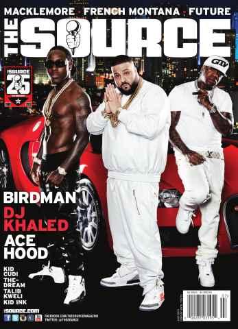 The Source Magazine issue #258 The Source Magazine -Khaled