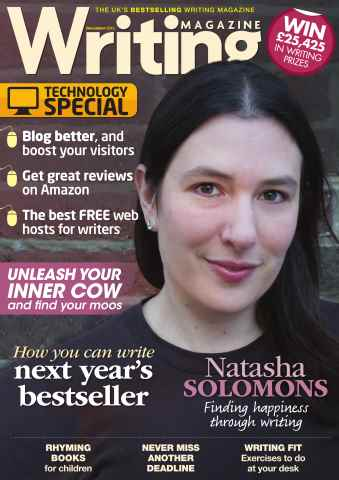 Writing Magazine issue December 2013