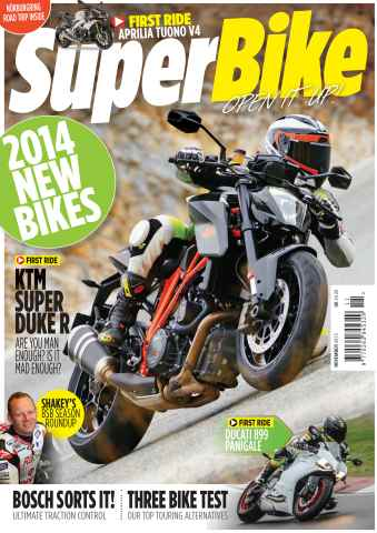 Superbike Magazine issue November 2013