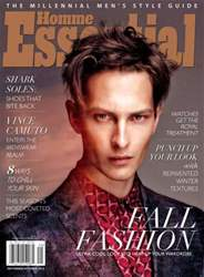 Essential Homme issue September - October  2013