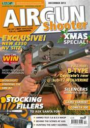 Airgun Shooter issue December 2013