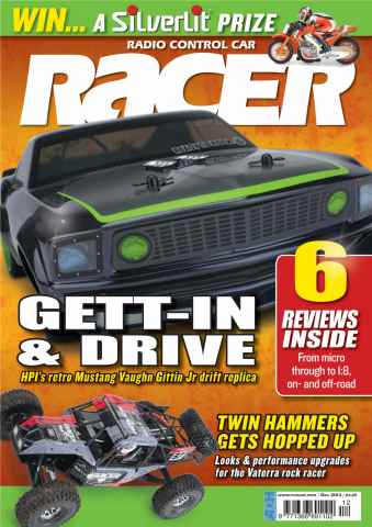 Radio Control Car Racer issue Dec-13