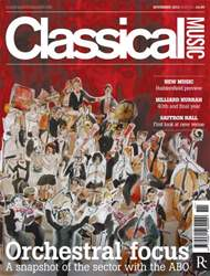 Classical Music issue November 2013