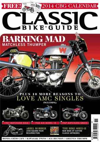 Classic Bike Guide issue November 2013