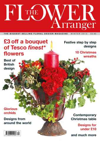 The Flower Arranger issue Winter 2013